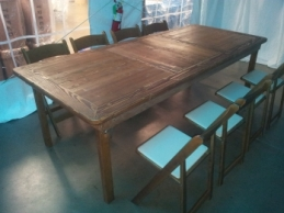 8' Custom-built Farm Tables