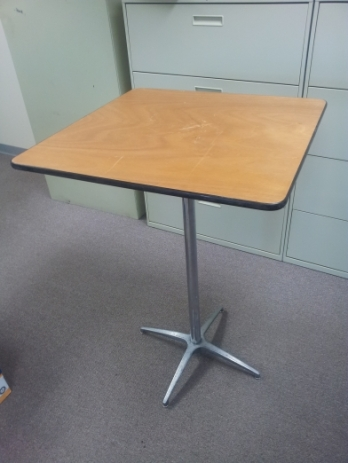 Square Cocktail Table. 42