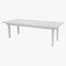 8' White Farm Table